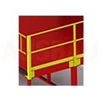12. Korlát 1 oldalról G (OPT-HRL).. A platformon dolgozó gyalogosok nagyobb biztonsága érdekében. Magasság 1000 m.